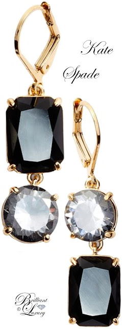 Brilliant Luxury ♦ Kate Spade Shine On Mismatched Drop Earrings