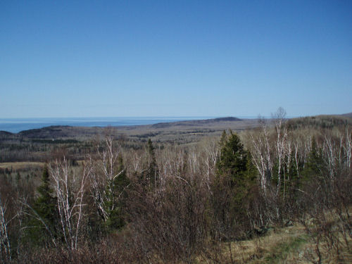 Hellacious Overlook, North Country Trail, Superior Hiking Trail