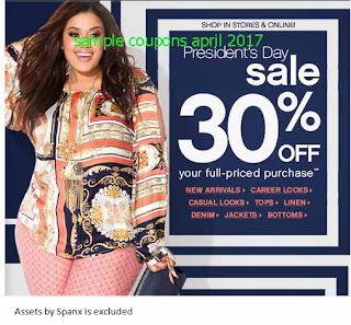 Ashley Stewart coupons april 2017