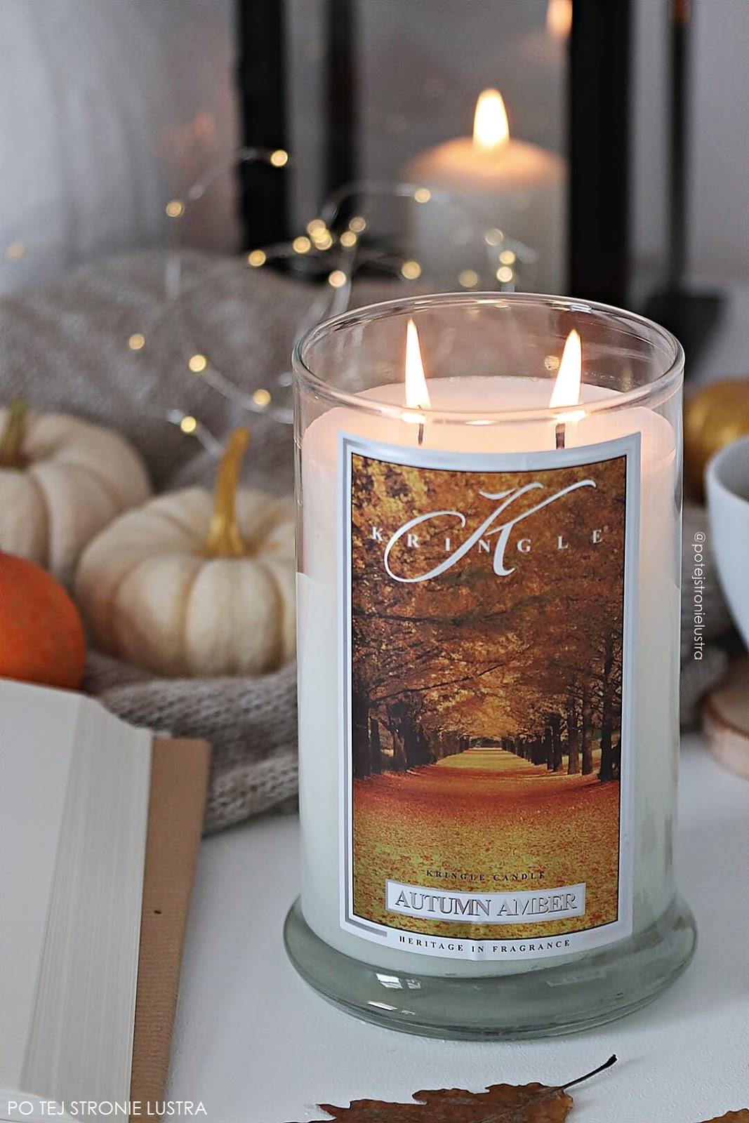 kringle candle autumn amber nowość na jesień 2018