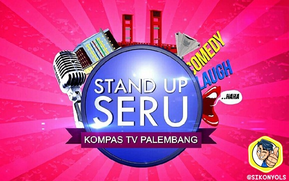 Juju Onyols Sikonyols Logo STAND UP SERU KOMPAS TV