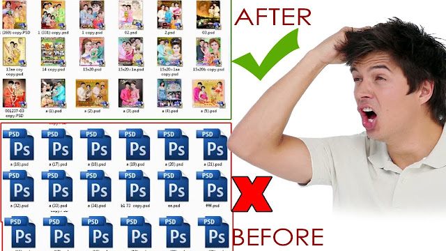 How To Show Photoshop Psd Thumbnails