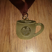 Fitbitches : My Running Medals in 2017 - Virtual Runner Coffee Cup