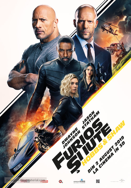 Hobbs & Shaw 2019 Hindi Dual Audio HDCAM 480p 400Mb x264