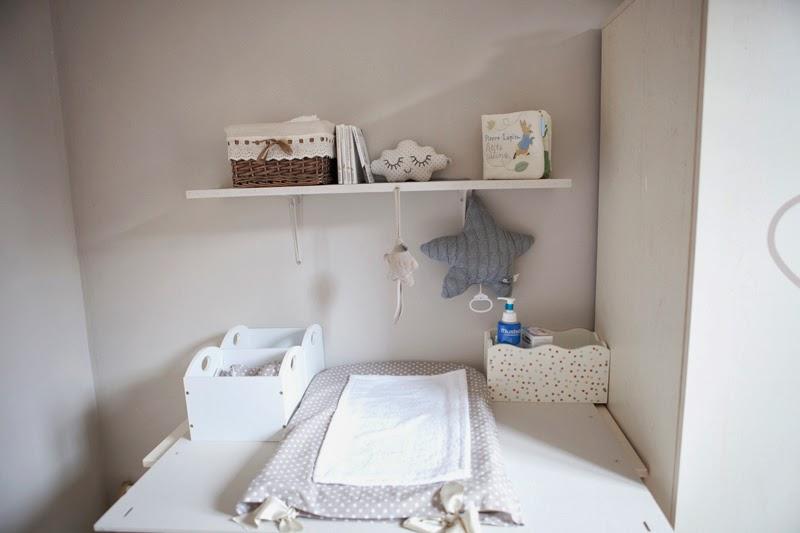 la chambre de b b nuage d coration plume picoti. Black Bedroom Furniture Sets. Home Design Ideas