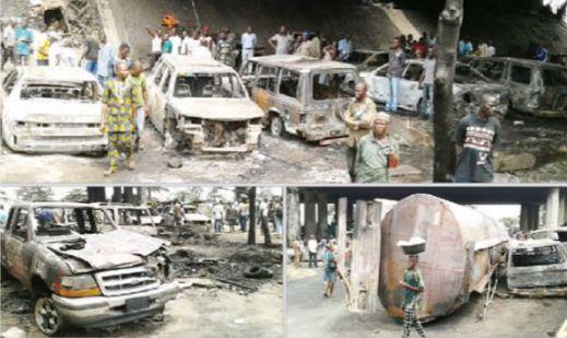 TRAGIC | Two Dead, 31 Vehicles Razed In Tanker Fire
