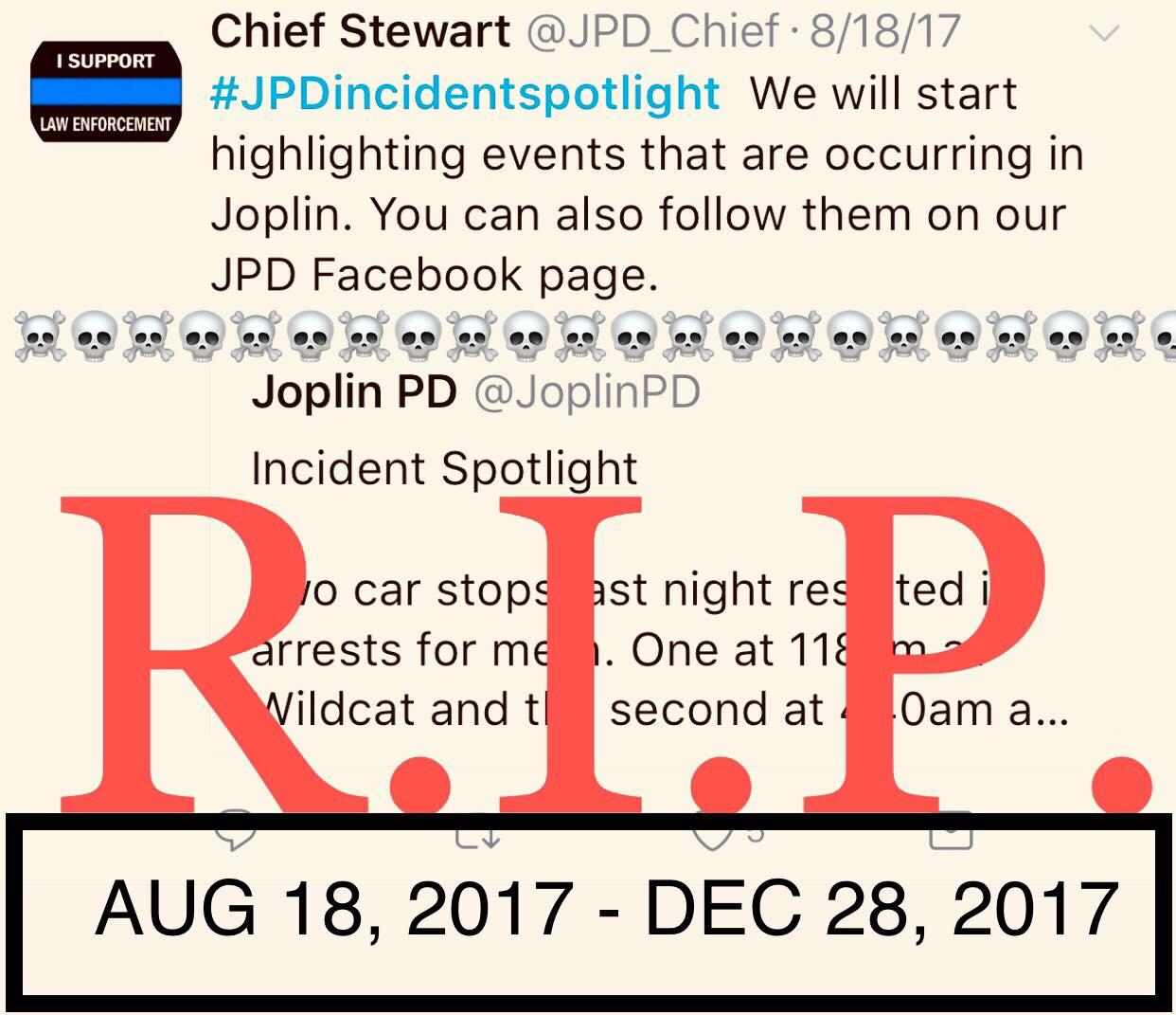 Joplin News First: Joplin City Hall ENDS JPD Updates ...
