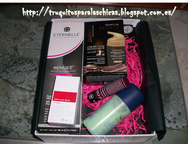 caja de belleza mensual