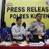 Sat Reskoba Polres Klaten Amankan 9 Tersangka dari 7 Kasus Penyalahgunaan Narkoba