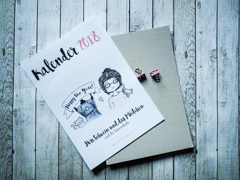 Neuer Doodle Kalender 2018