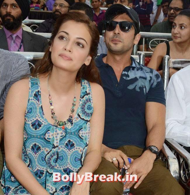 Dia Mirza and Zayed Khan, Dia & Ruby Bhatia at World Environment Day Celebrations 2014