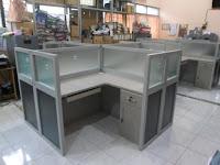 Bentuk X - Meja Sekat Kantor Semarang