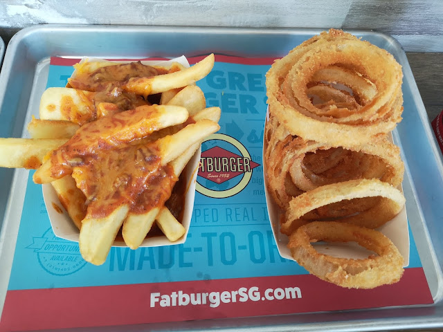 Chilli Fries and Onion Rings