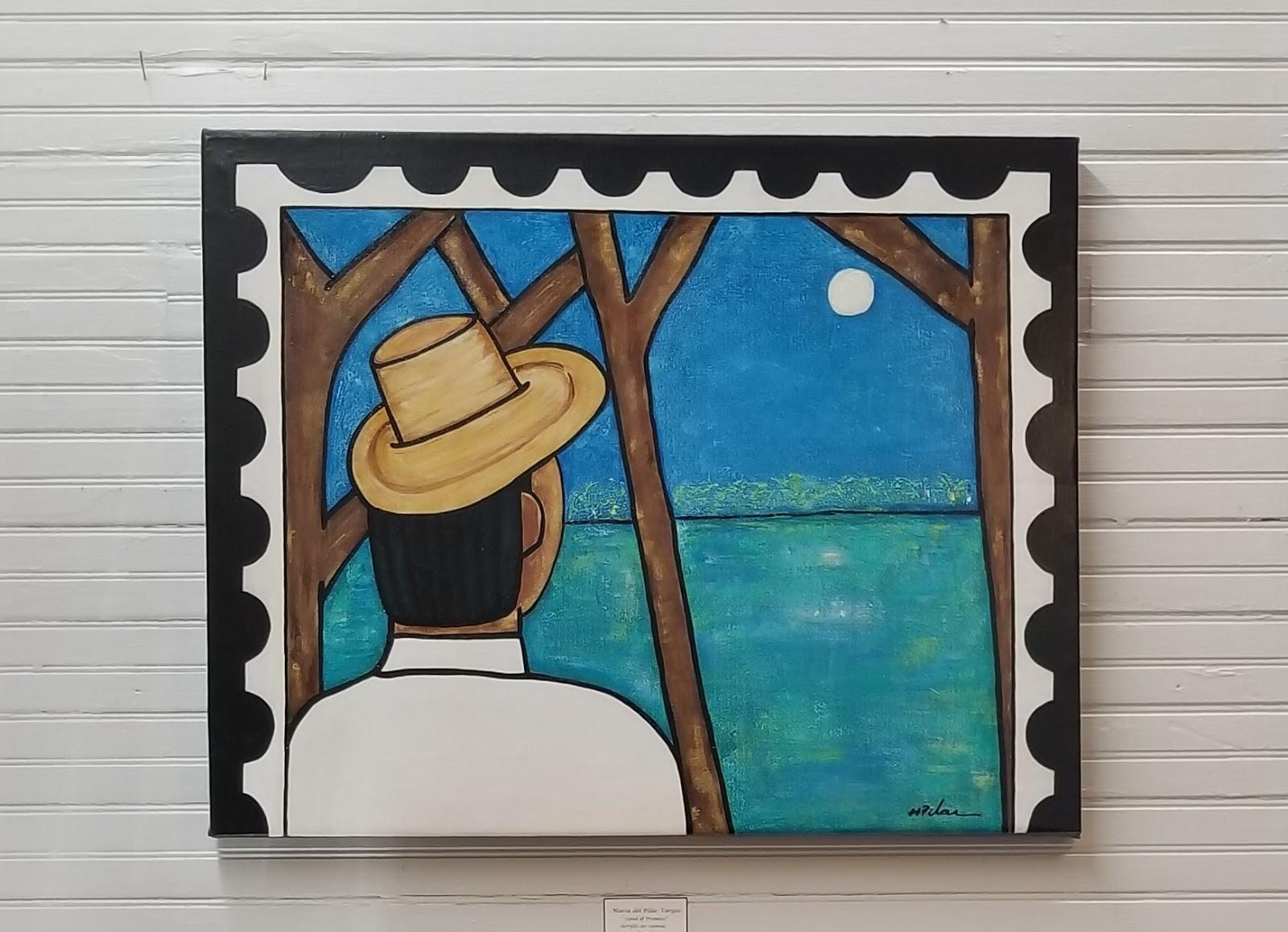 Acrylic Painting Pilar Vargas