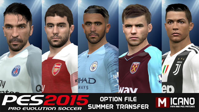Option File Update for Next Season Patch PES 2015