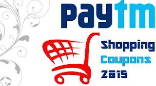 Paytm Shopping Coupons