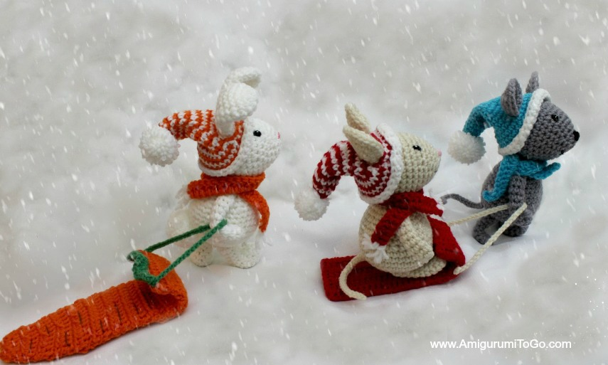 Winter Friends Set Pattern Links With Gallery ~ Amigurumi To Go