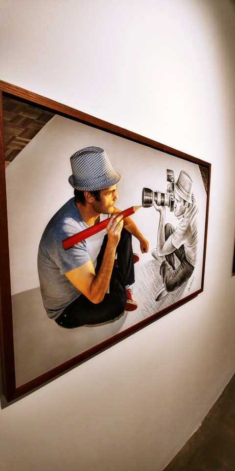 Pencil Vs Camera Art Exhibition at Suwon iPark Museum of Art - South Korea 2017 - Ben Heine Art