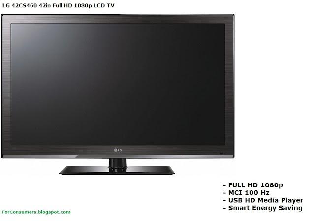 LG 42CS460 FULL HD LCD TV