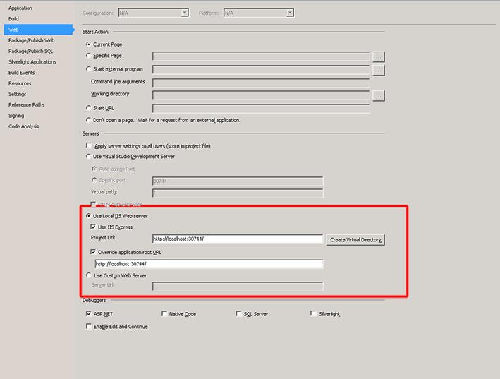 Adventures In Development   : Debugging a Visual Studio Web