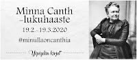 Minna Canth -lukuhaaste (19.2.-19.3.2020)