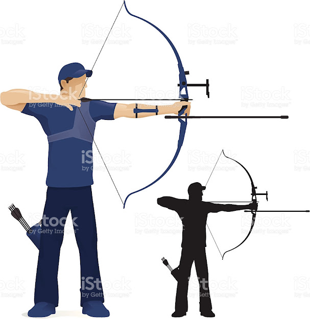 Archery Vector Art Illustration