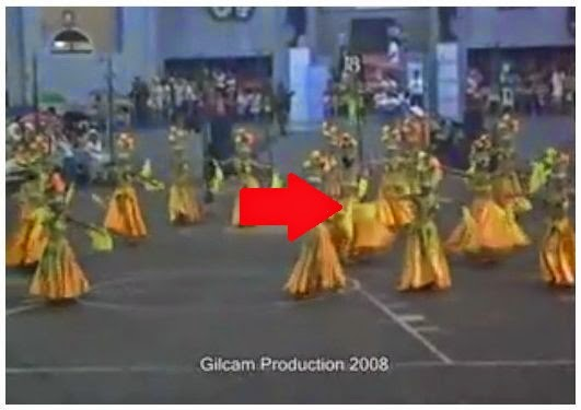 Pasalamat Dancers at Grand Arena competition