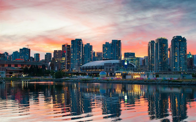 Vancouver Beautiful and Magical Canadian City Canada HD Wallpaper