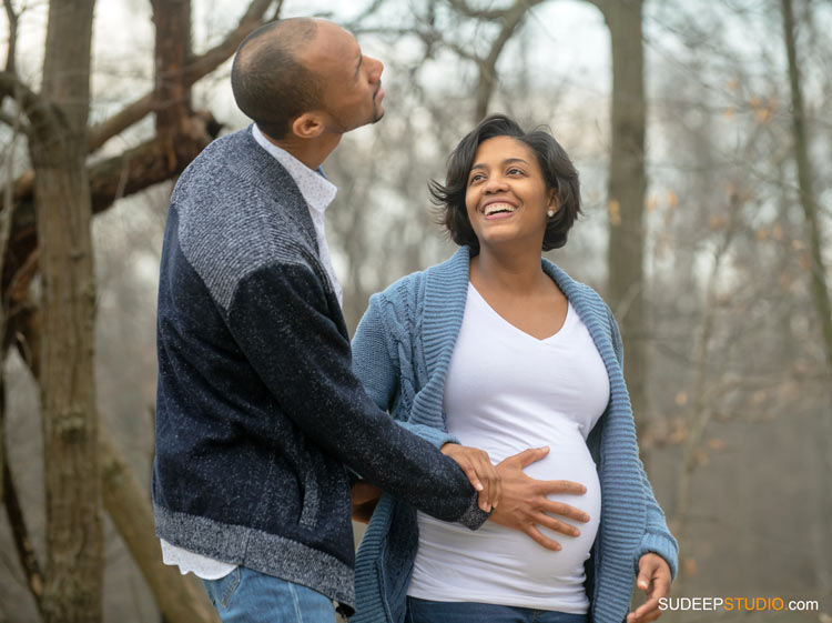 Outdoor Nature Maternity Photography in Livonia Hines Park by SudeepStudio.com Ann Arbor Maternity Portrait Photographer