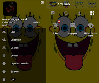 BBM Mod Spongebob Square V3.0.1.25 Apk