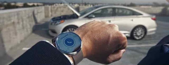 الساعة الذكية هيونداي