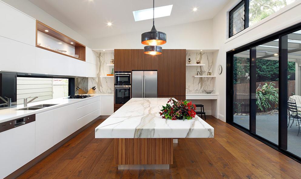 Encimeras de m rmol una opci n para la cocina cocinas for Encimera de marmol precio