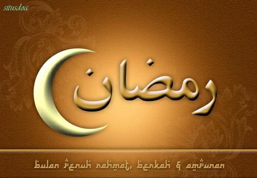 Doa Niat Puasa Ramadhan Sebulan Penuh Bahasa Arab Latin Dan Artinya