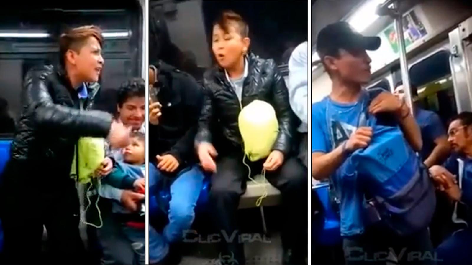 Usuaria del Metro calla a rapero con sus propias rimas (VIDEO).