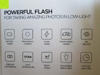 Übersicht: LIHAO Iblazr LED Blitz Mini Flash für Smartphone und Kamera 4 Leds (Weiß)