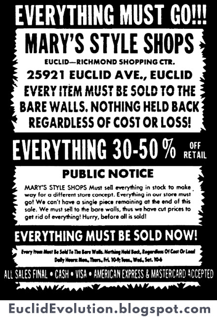 euclid evolution  25921 euclid ave  mary u0026 39 s style shops
