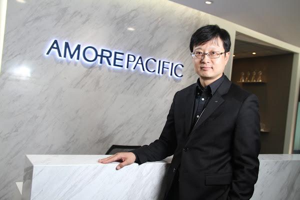愛茉莉太平洋集團台灣區總經理姜民求
