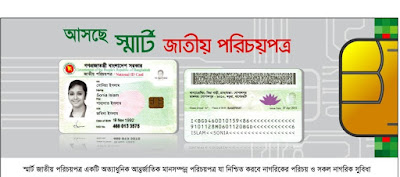 Bangladesh Smart NID Card