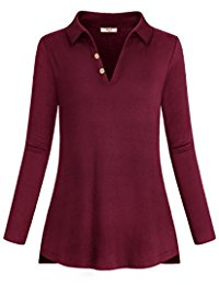 Women's Casual Tunic Tops Shirts Through Online From Amazon