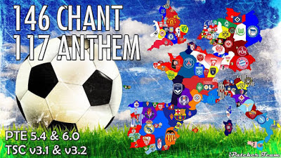 PES 2016 Chant Pack V2 + Anthem AIO dari iPatch