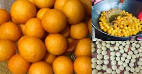 ชวนทำขนมไข่นกกะทา (ขนมไข่เต่า)  กรอบนอกนุ่มใน ทิ้งไว้ไม่เหนียว ทำขายได้เลย