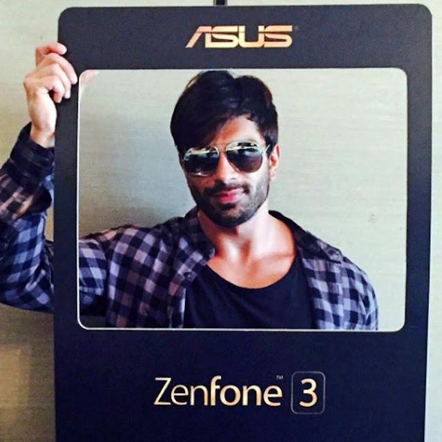 Karan Singh Grover promotes Asus Zenfone 3 series smartphones - Bollywood actor Karan Singh Grover promotes Asus Zenfone 3 series smartphones in his cool style.