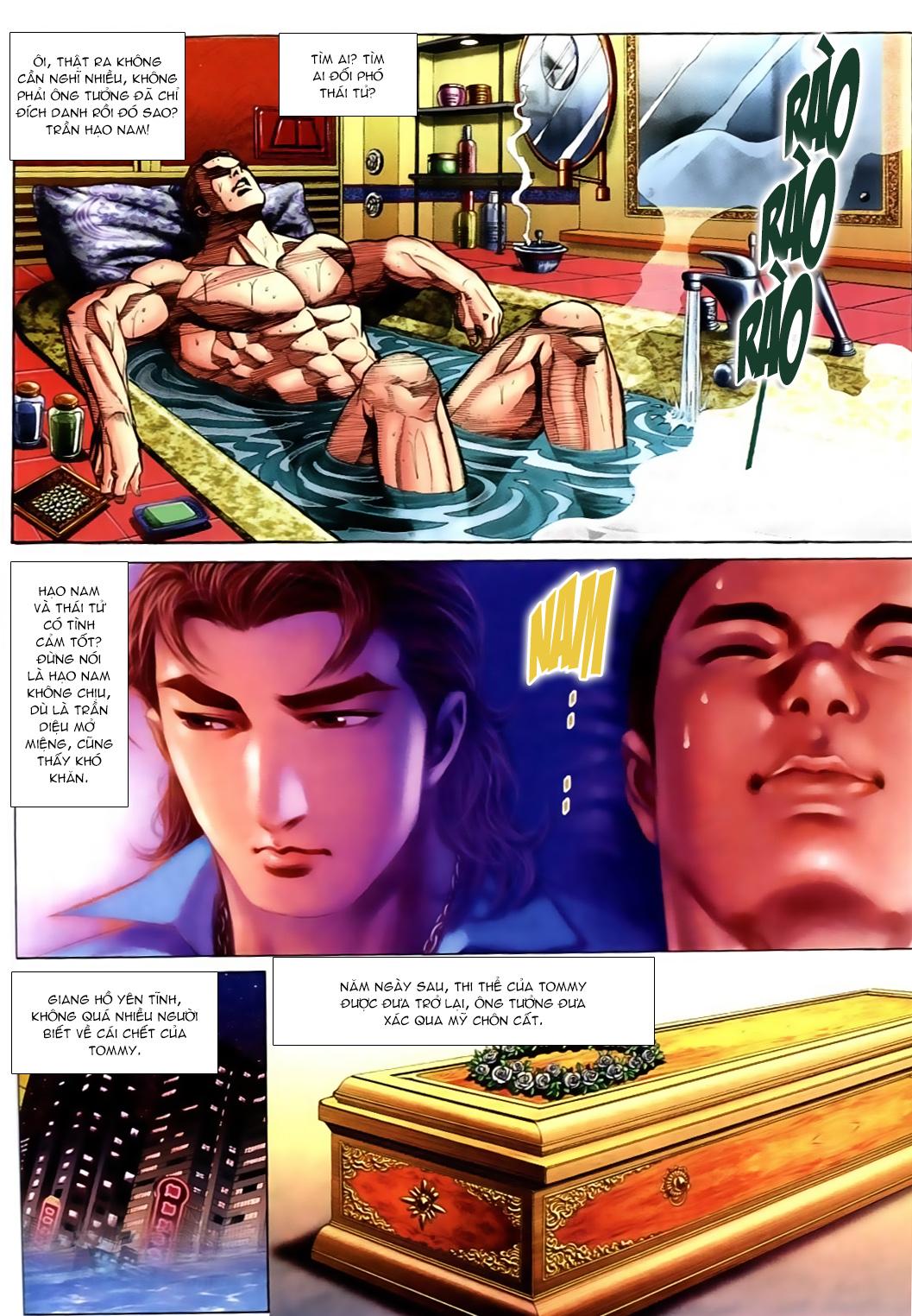 Người Trong Giang Hồ chapter 556: làm khó nam đẹp trai trang 8