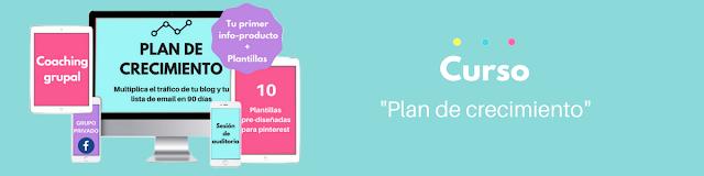 plan de crecimiento