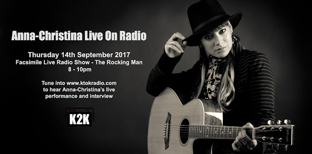 Anna-Christina from Lilygun - Performing live on radio