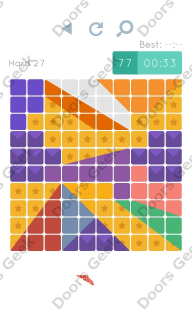 Cheats, Walkthrough for Blocks and Shapes Hard Level 27