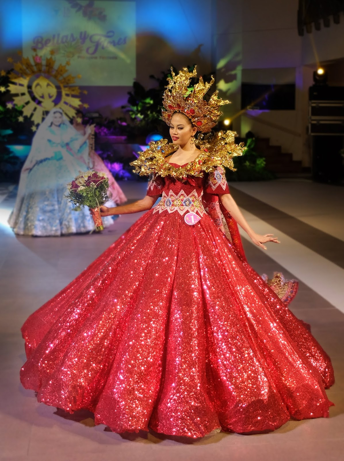Lami-Lamihan Festival of Lamitan, Basilan by Pio Hilario Festival de las Bellas y Flores Gown Competition National Costume