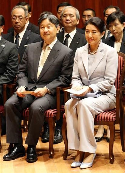 Crown Prince Naruhito and Crown Princess Masako attended Pinocchio Concert  held at the Argerich Arts Foundation. pianist Martha Argerich