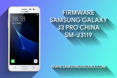 FIRMWARE SAMSUNG J3119