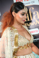 Apoorva Spicy Pics in Cream Deep Neck Choli Ghagra WOW at IIFA Utsavam Awards 2017 04.JPG